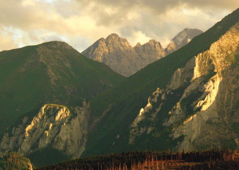 119 - Večer v horách