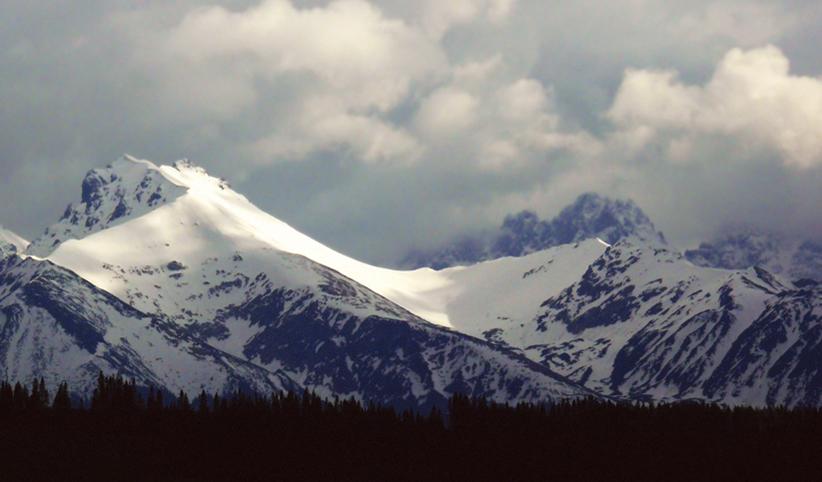 163 - Tatry v apríli