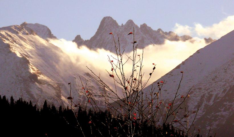 173 - Jeseň v horách